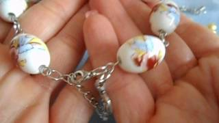 Eyepin link bracelets nd tutorial