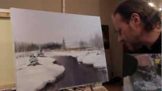 Научится рисовать Полный видеоурок И.Сахарова 'ЗИМНИЙ ПЕЙЗАЖ'(Игорь Cахаров, один из самых известных и талантливых современных художников, русский Боб Росс, как часто..., 2013-02-25T00:59:33.000Z)
