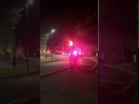 Video: Two Families Displaced After Fire Breaks Out At Townhouses In Suffern