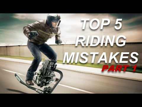 Thumbnail: Top 5 Mistakes about riding motorcycles