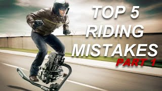 Top 5 Mistakes About Riding Motorcycles
