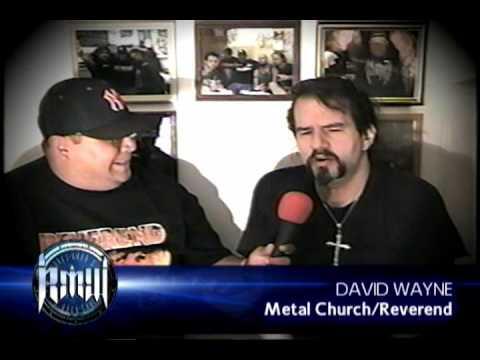 DAVID WAYNE Metal ChurchReverend on Robbs MetalWorks 2002