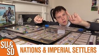 Nations & Imperial Settlers - Shut Up & Sit Down Review