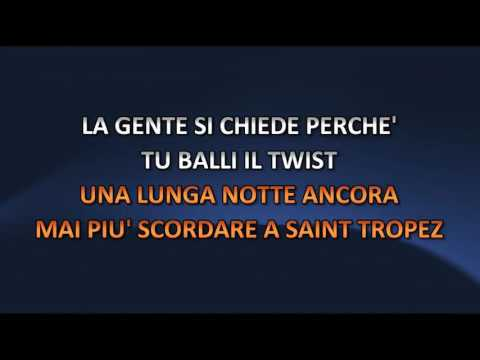 Peppino Di Capri - St Tropez Twist (Video karaoke)