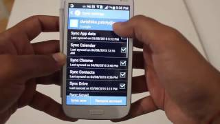 How to Delete a Gmail Account from Samsung Galaxy  Android Smartphone