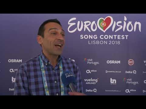 Gonçalo Madaíl em entrevista à euronews