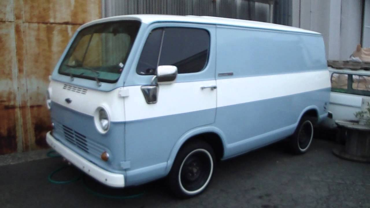 Spotted: A 1964 Chevy Van - YouTube