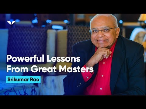 Powerful Lessons from Great Masters - How to Build a Life, and Not Just a Career