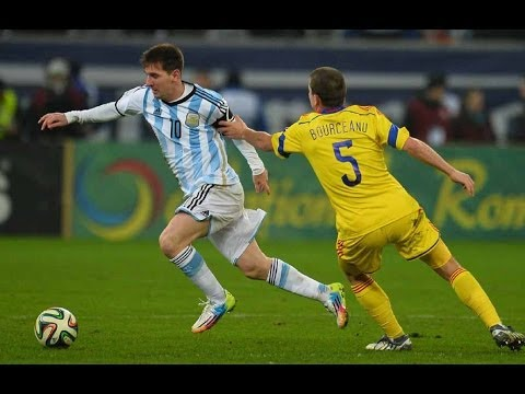 Lionel Messi vs Romania Individual Highlights Away 2014