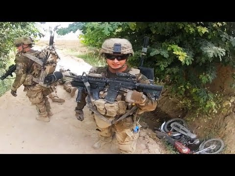 US Army EOD Soldiers Ambushed on Patrol - Part 2 - YouTube