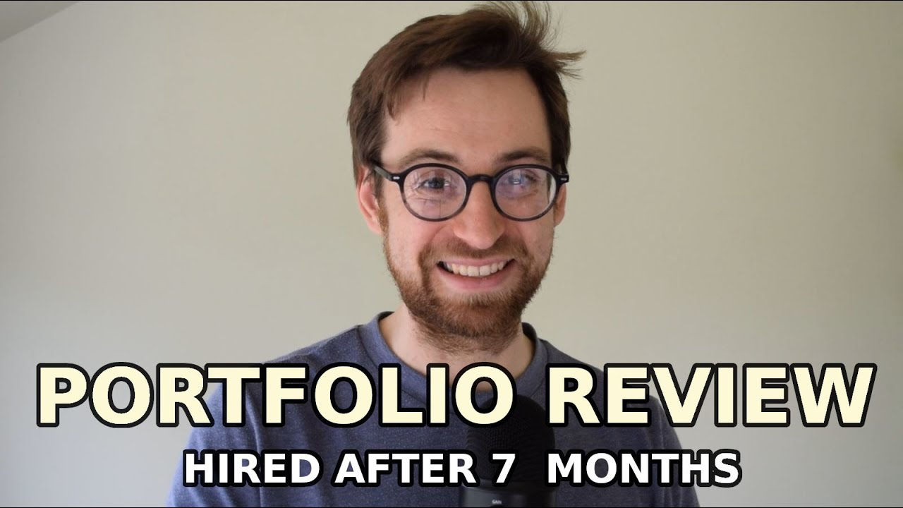 Junior Front End Web Developer Portfolio Review | How He Got Hired After 7 Months (UK)