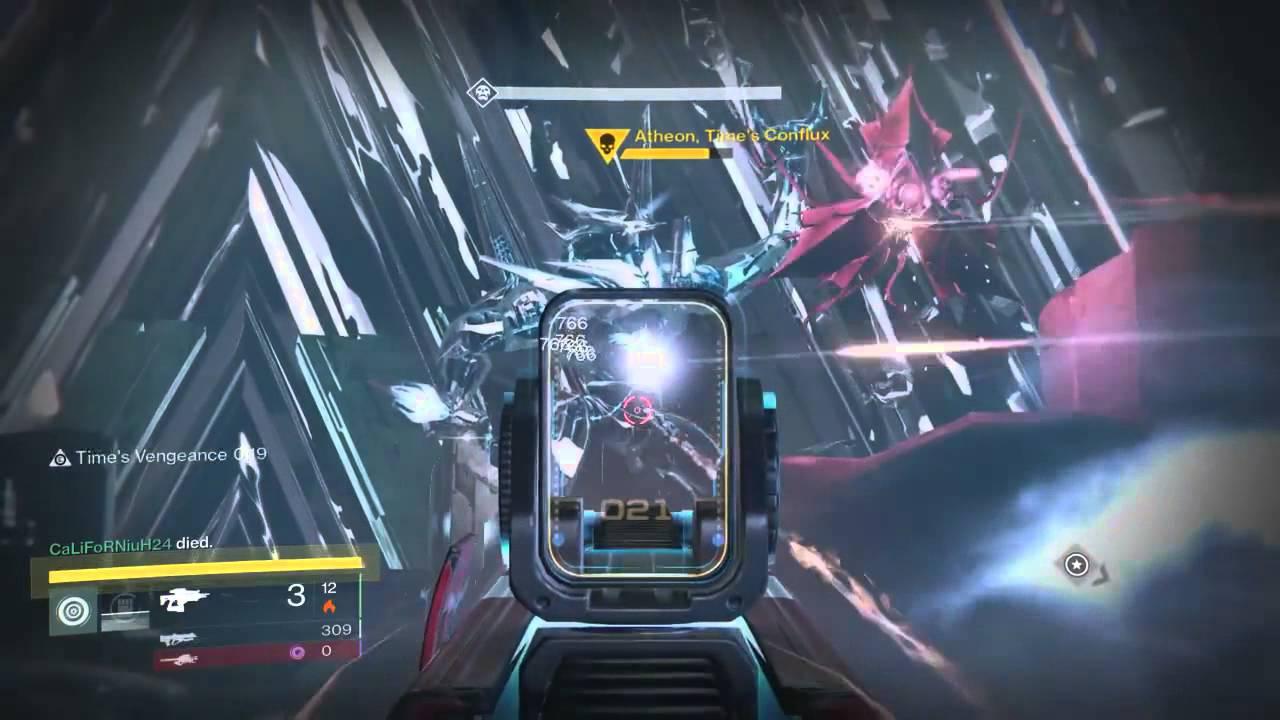 Last Boss Atheon Vault Of Glass Destiny S Raid The