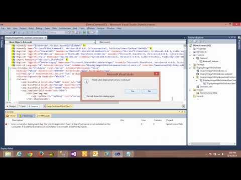 Deploy Webpart To Server Sharepoint