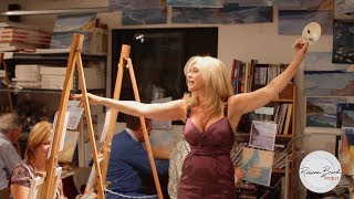 Learn to Paint a Painting - Easy steps and Instruction