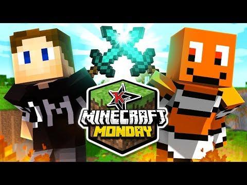 Behzinga & Zerkaa Compete in Minecraft Monday
