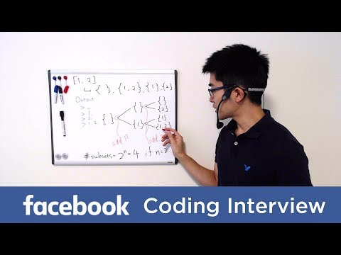Facebook Coding Interview Question and Answer #1: All Subset