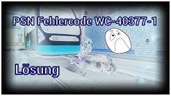 PSN Fehlercode WC-40377-1 | Lösung | Fehler beim Hinzufügen von Guthaben auf ein Unterkonto