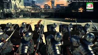 Ryse: Son of Rome - Xbox One Live Gameplay Demo | E3 2013 (720p)