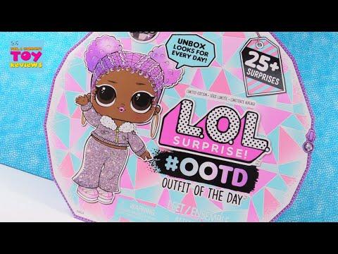 LOL Surprise #OOTD Advent Calendar Winter Disco Fashion Fun | PSToyReviews