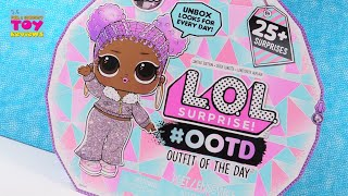 LOL Surprise #OOTD Advent Calendar Winter Disco Fashion Fun | PSToyReviews