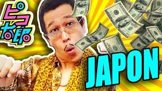 Sorprendente Cuanto DINERO PIKOTARO ha Ganado por PPAP | TOKIO JAPON [By JAPANISTIC]