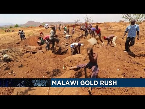 Gold rush in Malawi