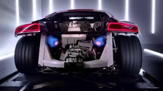 Audi R8 V10 - Engine Acceleration Dyno 2014