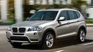 All-New BMW X3 Driving + interior/exterior in HD