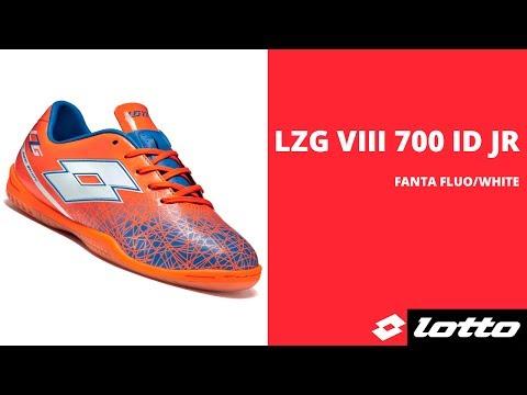 5cd980fe Купить Футзалки (бампы) детские Lotto LZG VIII 700 ID JR S4011 FLUO  FANTA/WHITE в интернет-магазине | 4SOCCER