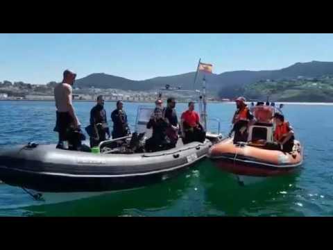 Llegan a Viveiro nuevos participantes de la ruta cultural subacuática