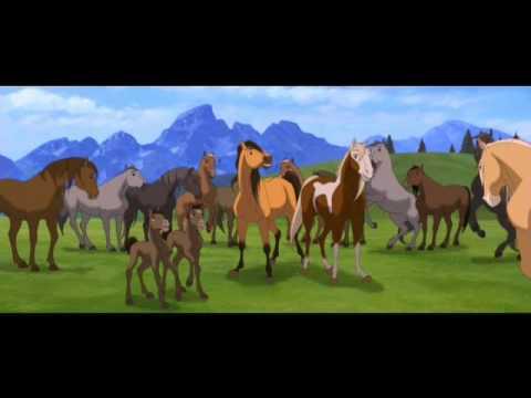 32b6f4a55a9 Spirit το Αγριο Αλογο Ελληνικο Τραγουδι απο την Ταινια 6 - YouTube