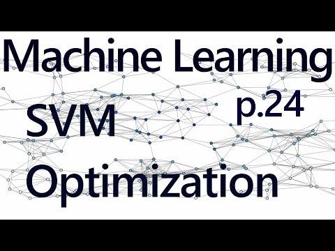 Support Vector Machine Optimization - Practical Machine Learning Tutorial with Python p.24