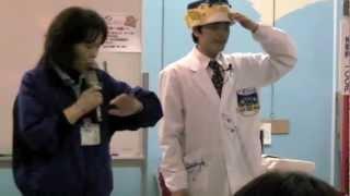 東日本大震災から1年目の2012年3月11日に岩手県久慈市では復興...