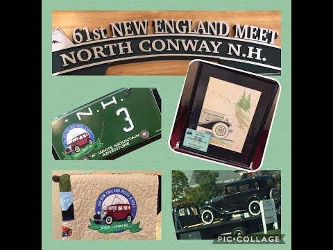 New Hampshire Lakes Region 2017 New England Model A Meet