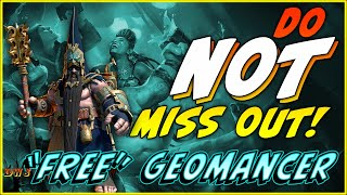 """Do NOT Miss Out!  """"Free"""" Geomancer 
