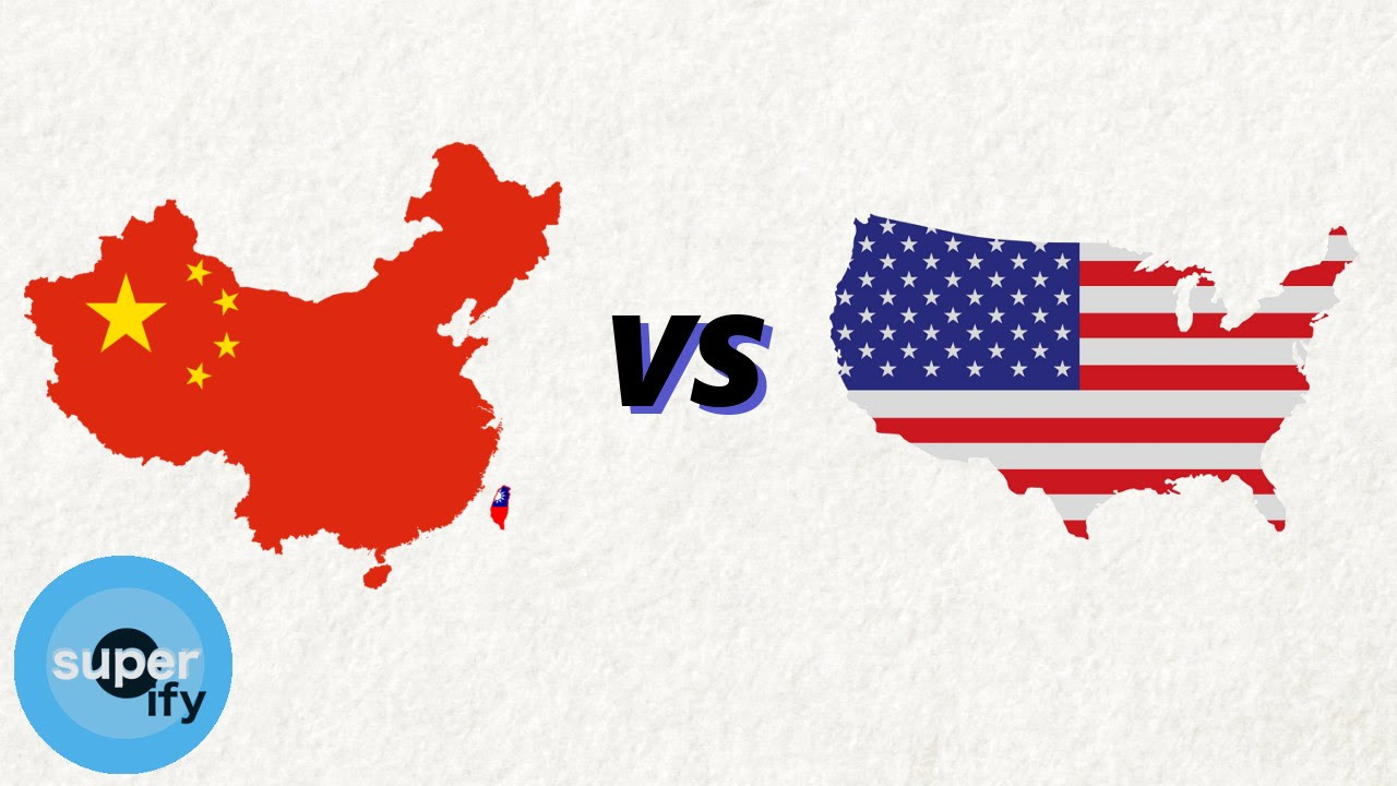 china vs the united states which is bigger youtube