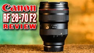 CANON RF 28-70mm F2 REVIEW | BEST Fast ZOOM Lens EVER?