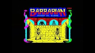 BARBARIAN (ZX SPECTRUM - FULL GAME)