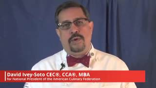 David Ivey-Soto - Candidate for ACF National President