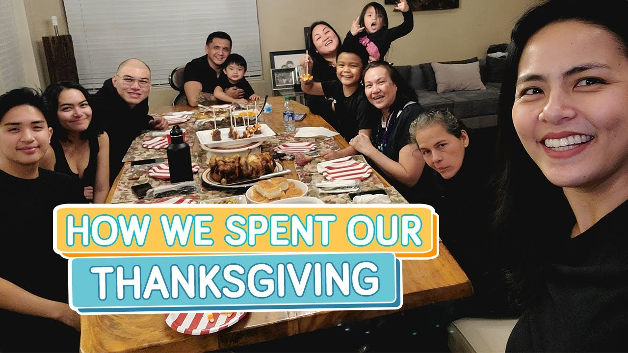Our First Thanksgiving in the USA - Alapag Family Fun