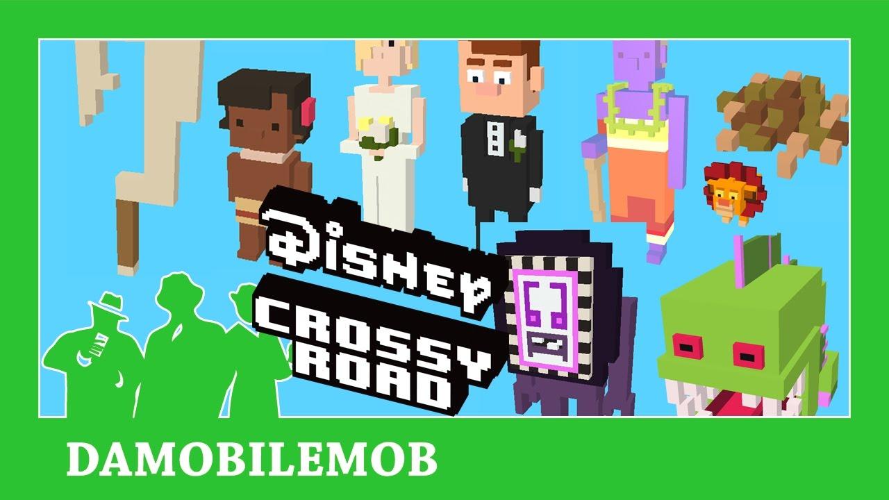 81cee20d4a93 ☆ Disney Crossy Road Moana All Secret Characters Unlocked (Moana Update) -  YouTube