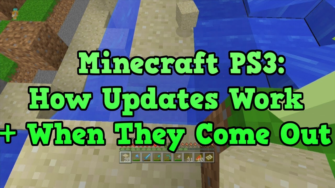 Minecraft PS3 UPDATE - TU14 / Release Date and how updates ...