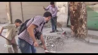 حملة تطوعية لتنظيف عربين تفاديا لانتشار الأمراض