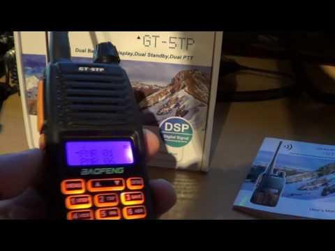Baofeng GT-5TP Dual Band Radio Review - Part 1