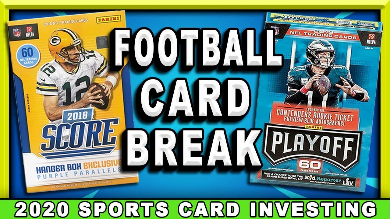 NFL Football Card Hanger Box Openings!