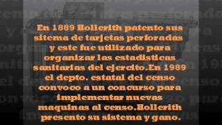 practica no 11 HERMAN HOLLERITH