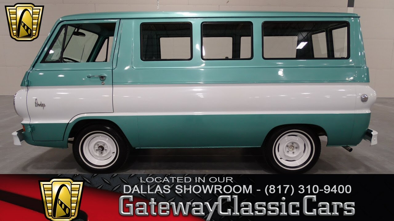 Dodge A100 For Sale >> 1967 Dodge A100 Van Gateway Classic Cars Dallas 53