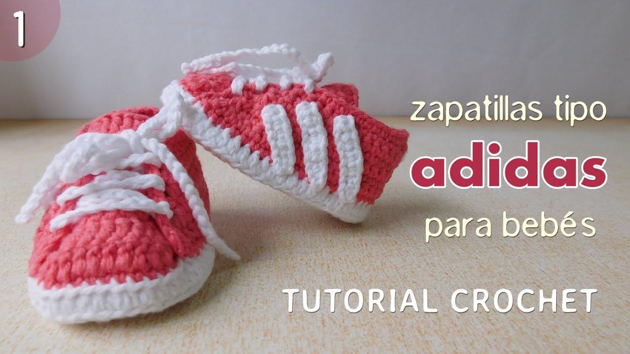 Crochet Adidas Para A Bebéparte Zapatillas 1 De 2 80nmNwOv