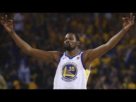 Ginobili's Final Game? Durant Blocks a Dunk! 2018 NBA Playoffs