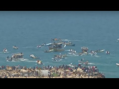 Israeli Military Prevents Palestinian Attempt to Break Gaza's Naval Blockade